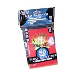 50 Count Max Neo Sleeves Red Skull