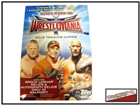2016 Topps Road to Wrestlemania (Brock Lesnar Exclusive)