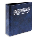 "3"" Collector Mini Binder Blue"
