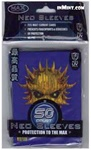 50 Count Max Neo Sleeves Blue Skull