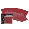 BCW Red 80ct Elite Glossy Gaming Deck Guard