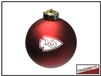 Shatterproof Ornament - Kansas City Chiefs