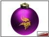 Shatterproof Ornament - Minnesota Vikings