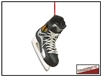 NHL Skate Ornament - Chicago Blackhawks