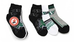 Saskatchewan Riders Boys 3 Pack Spots Socks