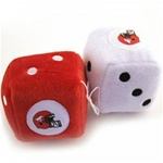 Stampeders Fuzzy Dice