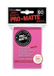 Ultra Pro 60ct Pro Matte Bright Pink Sleeves