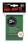 Ultra Pro 60ct Pro Matte Green Sleeves